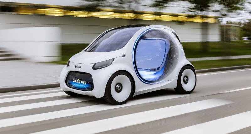 Smart Vision EQ ForTwo Concept : la Smart que vous ne conduirez jamais