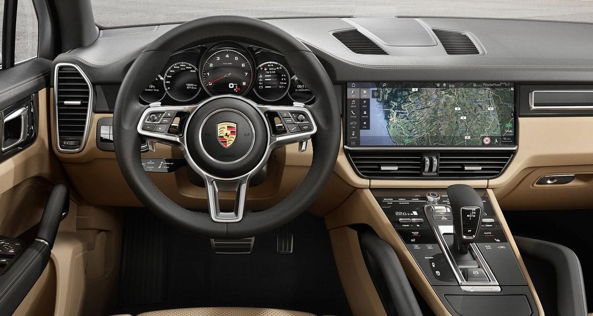 Le nouveau Porsche Cayenne adopte un système connecté avec écran de 12,3 pouces