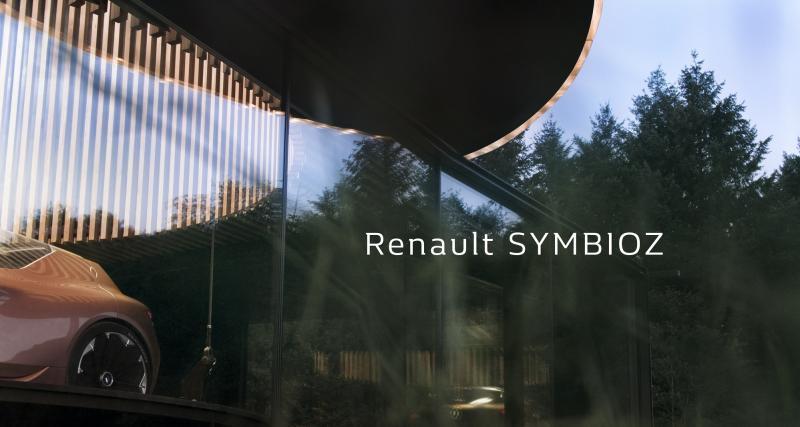 Le concept Renault Symbioz joue à cache-cache avant le salon de Francfort