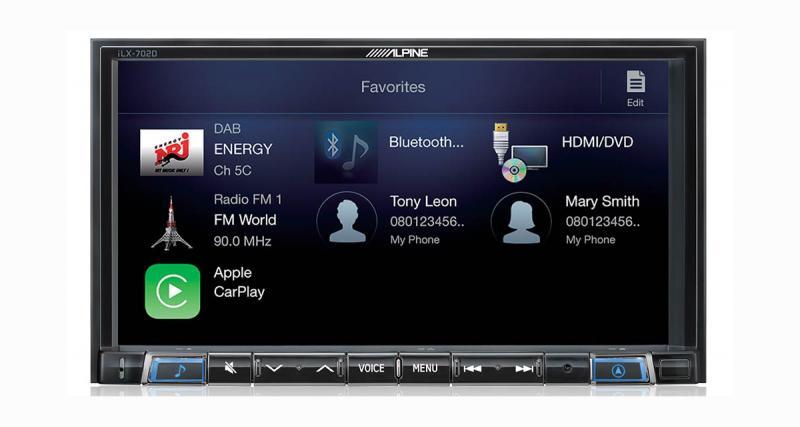 CarPlay, Android Auto, DAB, HDMI, le nouveau iLX-702D d'Alpine Electronics offre le meilleur de la technologie
