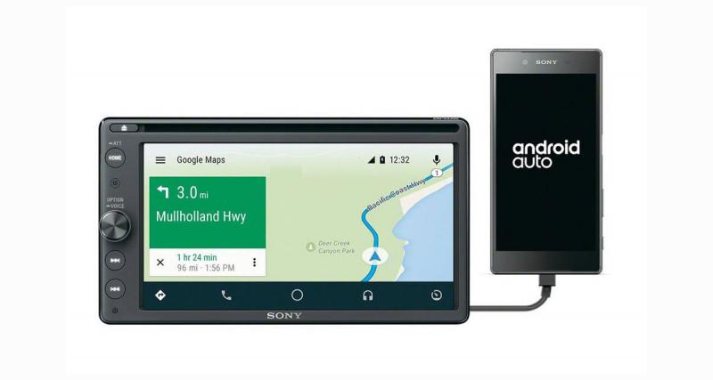Un nouvel autoradio multimédia compatible Smartphone arrive chez Sony