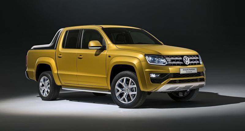 Le Volkswagen Amarok gagne en puissance à Francfort