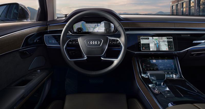 Audi s'est associé à Here pour la navigation de la nouvelle Audi A8