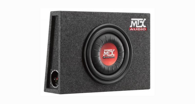 MTX présente un caisson de grave compact et puissant à un prix très attractif