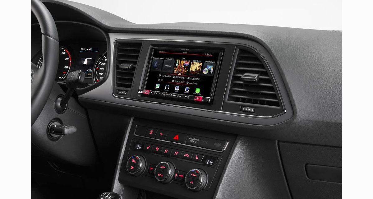 Un système multimédia high-tech pour la Seat Leon Chez Alpine Electronics