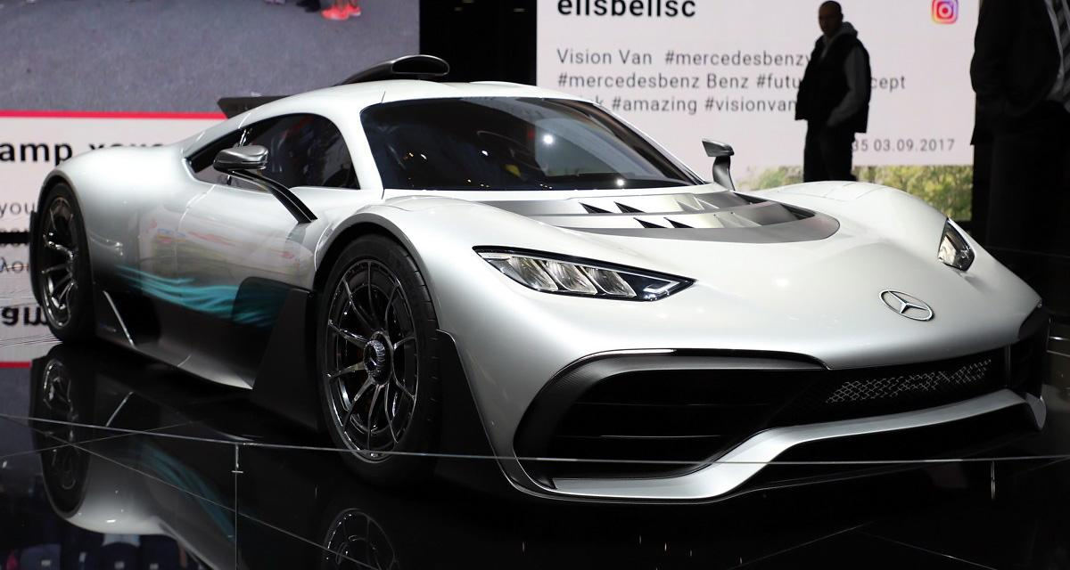 Mercedes-AMG Project One : une hypercar hybride de 1000 ch