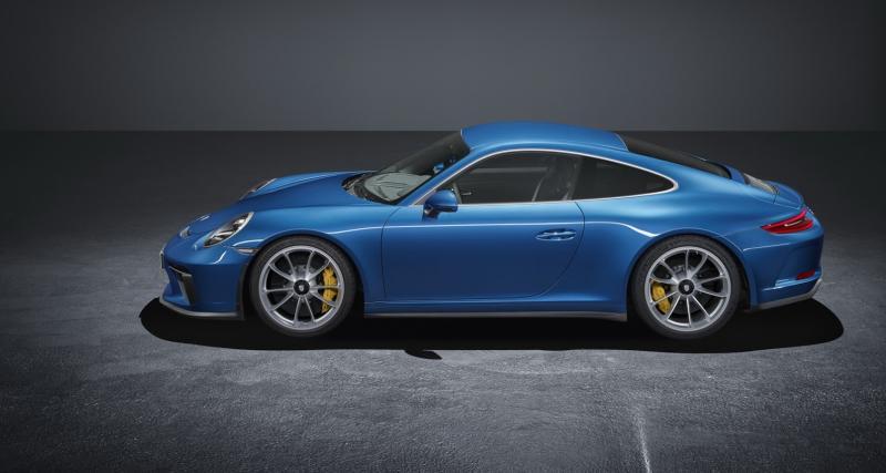 Porsche 911 GT3 Pack Touring : la 911 R pour tous
