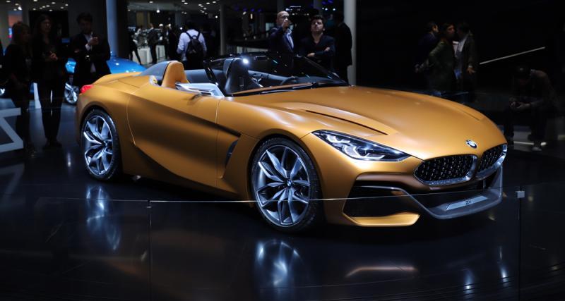 BMW Z4 Concept : le retour du roadster