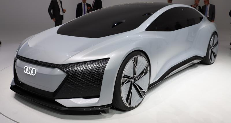 Audi Aicon Concept : interdiction de conduire
