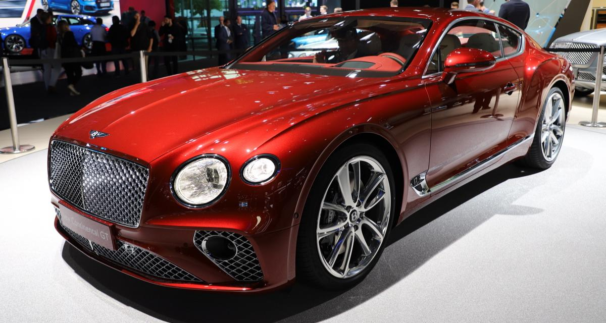 bentley continental gt la troisi me g n ration au salon de francfort. Black Bedroom Furniture Sets. Home Design Ideas