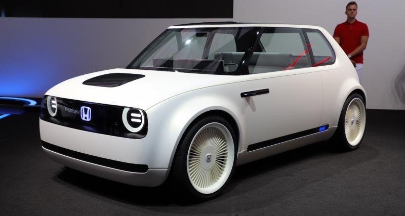 Honda Urban EV Concept : une citadine électrique pour 2019