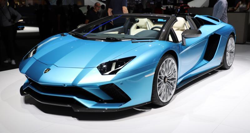 Lamborghini Aventador S Roadster : des sensations pures