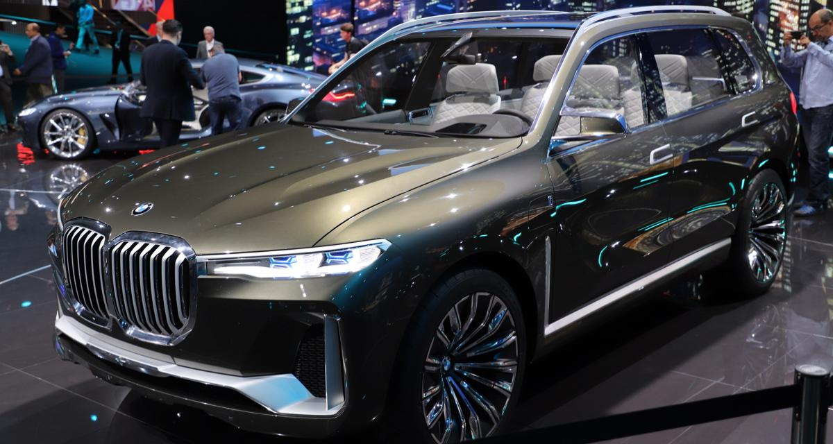 bmw x7 concept un futur suv sept places munich. Black Bedroom Furniture Sets. Home Design Ideas