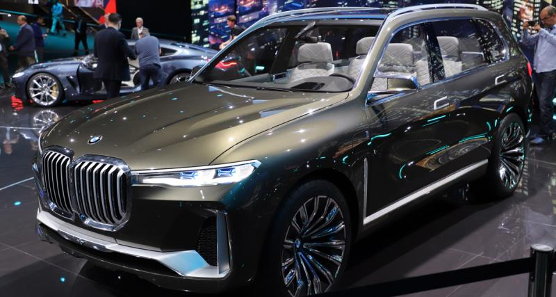 BMW X7 iPerformance Concept : convoi exceptionnel
