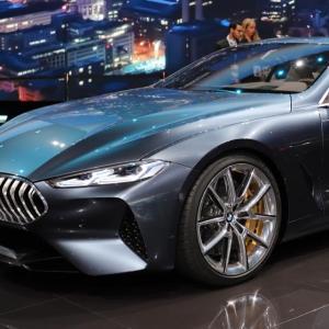 BMW Série 8 Concept : le grand tourisme selon Munich