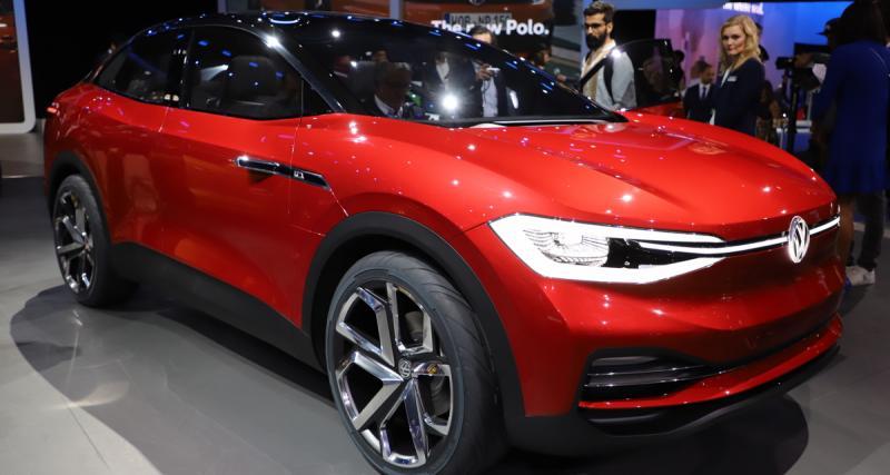 Volkswagen I.D. Crozz 2 Concept : le SUV électrique de 2020