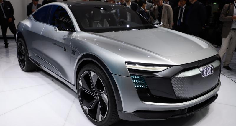 Audi ElAIne Concept : un SUV électrique et autonome