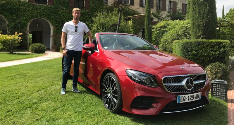 Essai Mercedes Classe E Cabriolet : enfin une classe au-dessus