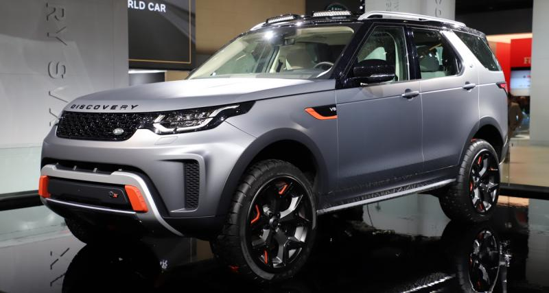 Land Rover Discovery SVX : un gros V8 pour barouder