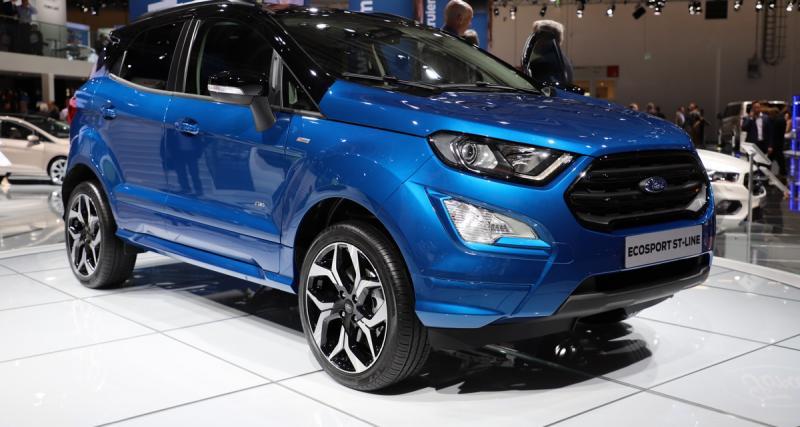 Ford EcoSport restylé : enfin avec une transmission intégrale