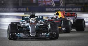 F1 - Singapour : Ferrari K.O., Hamilton tout en haut