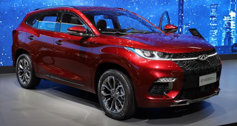 Chery Exeed TX : pour exciter l'Europe