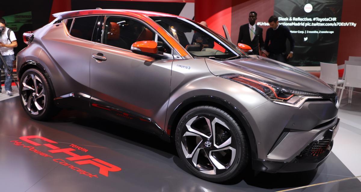 Toyota C-HR HyPower : choc électro-thermique