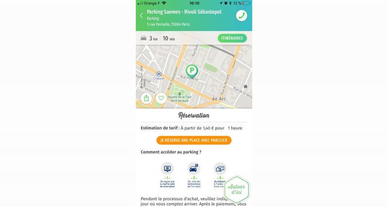 Parclick S'associe avec Mappy pour faciliter la préparation du déplacement et du stationnement de l'automobiliste