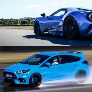 Essais sportifs : au volant des Ford GT et Focus RS Pack Performance!