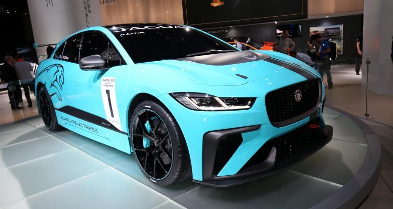 Jaguar I-Pace E Trophy : l'électrique SUV fera de la compétition !