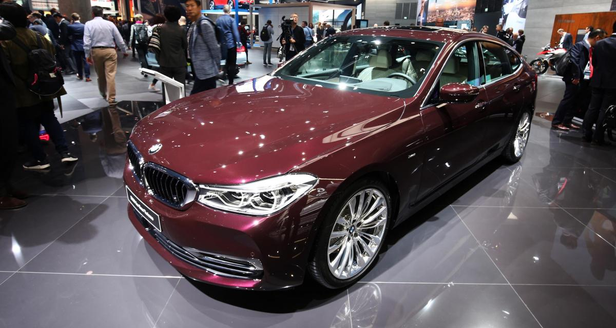 BMW Série 6 Gran Turismo : un sac à dos pour la Série 5