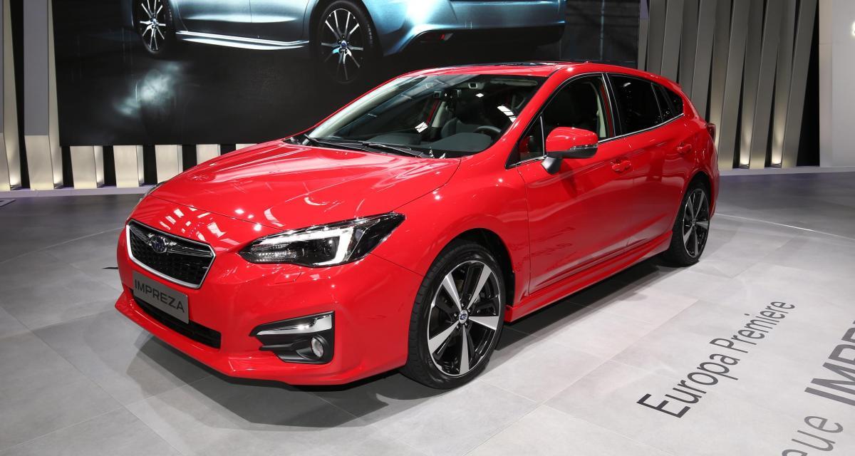 La Subaru Impreza fera son retour en 2018 avec une nouvelle génération