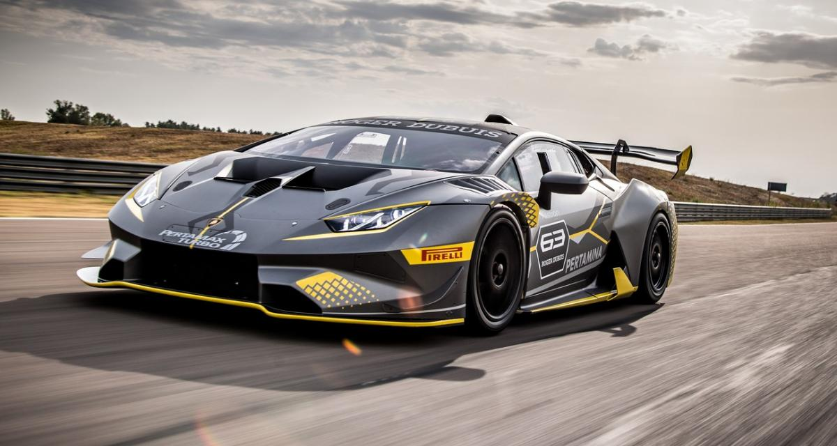 Lamborghini Huracan Super Trofeo EVO : la pistarde s'affûte
