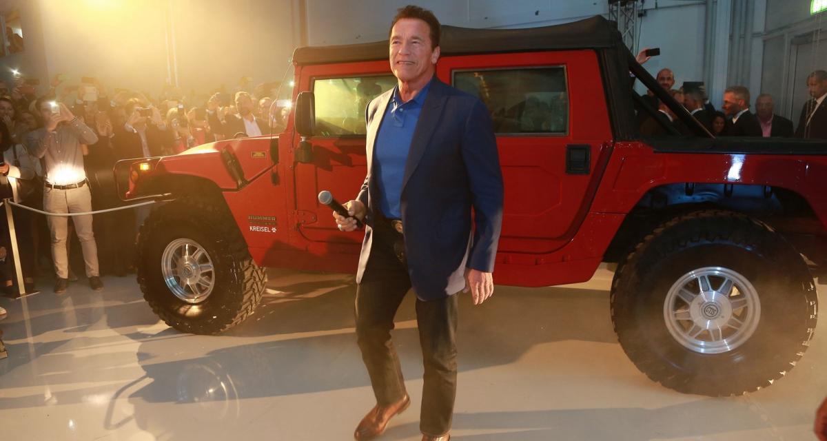 Schwarzenegger devient ambassadeur du Hummer H1 électrique