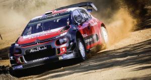 Sébastien Loeb retrouve la Citroën C3 WRC