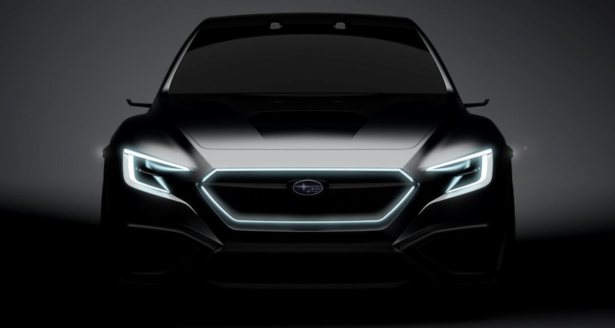 Subaru Viziv Performance Concept : la future WRX STi s'annonce