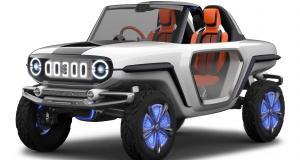 Suzuki e-Survivor Concept : mini-Jeep, maxi tout-terrain