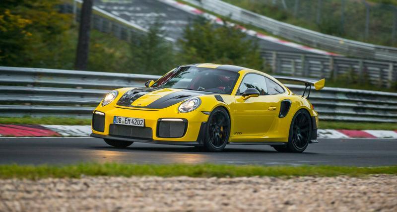 La Porsche 911 GT2 RS signe le record absolu du Nürburgring pour une voiture de production