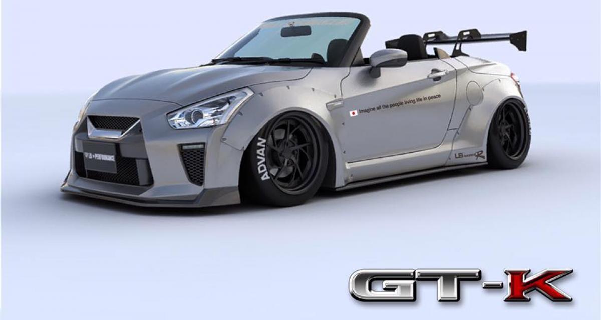 Liberty Walk invente la mini-Nissan GT-R, enfin presque
