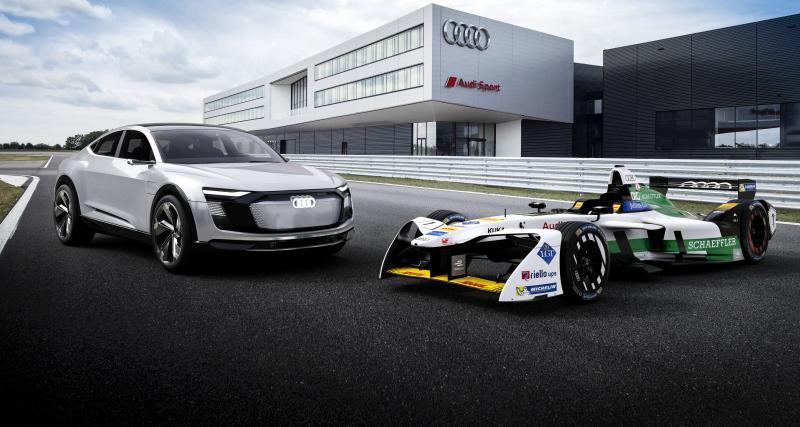 Une transmission à rapport unique pour la nouvelle Formule E d'Audi