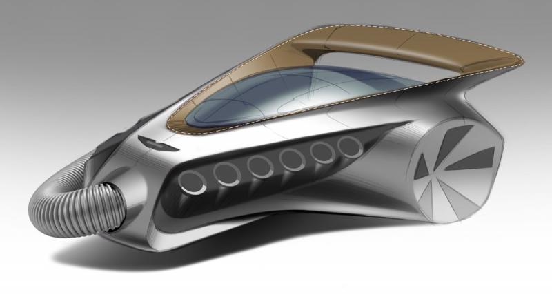 Aston Martin se moque de Dyson en imaginant un aspirateur
