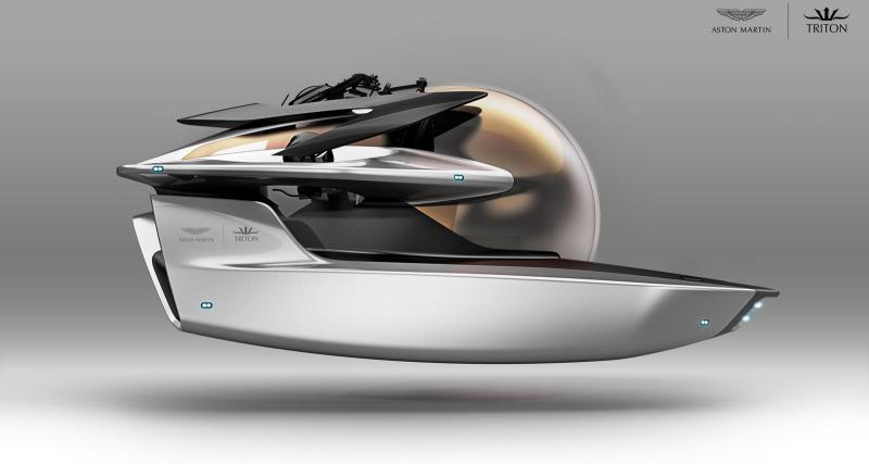 Aston Martin : après le faux aspirateur, voici le vrai sous-marin
