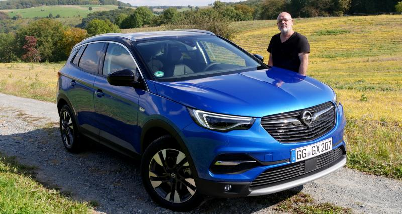 Essai Opel Grandland X : toujours classique, enfin chic