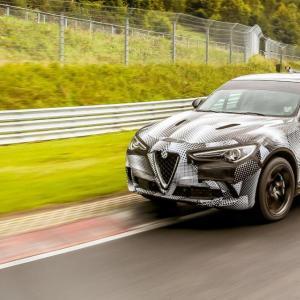 L'Alfa Romeo Stelvio Quadrifoglio pulvérise le record du Nürburgring pour un SUV