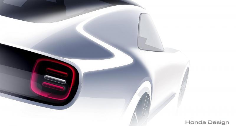 Une sportive Honda électrique et intelligente au salon de Tokyo