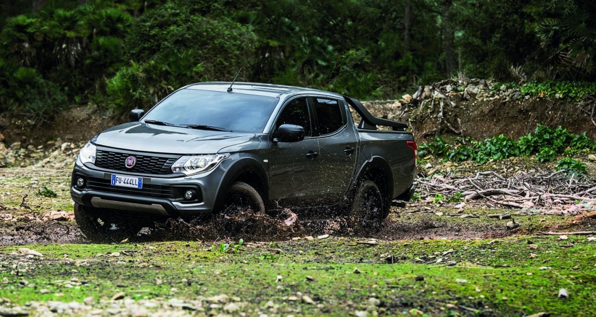 Fiat Fullback Cross : le pick-up se virilise