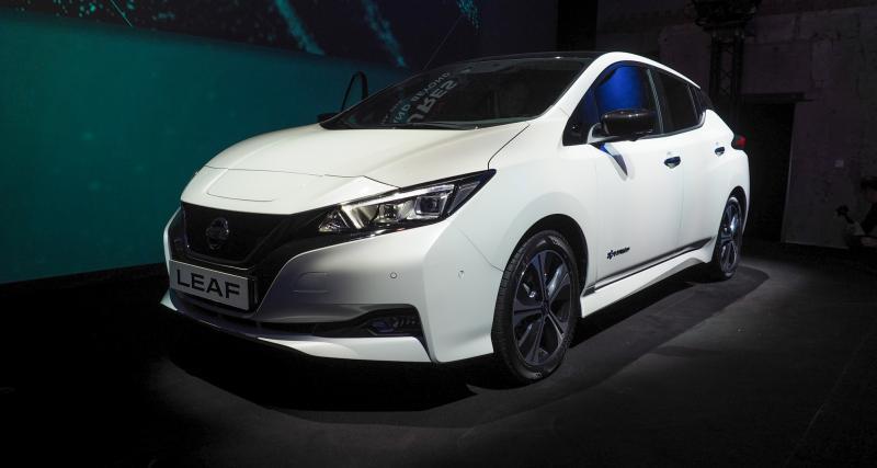 Nissan Leaf II : premier contact avec la Leaf 2018