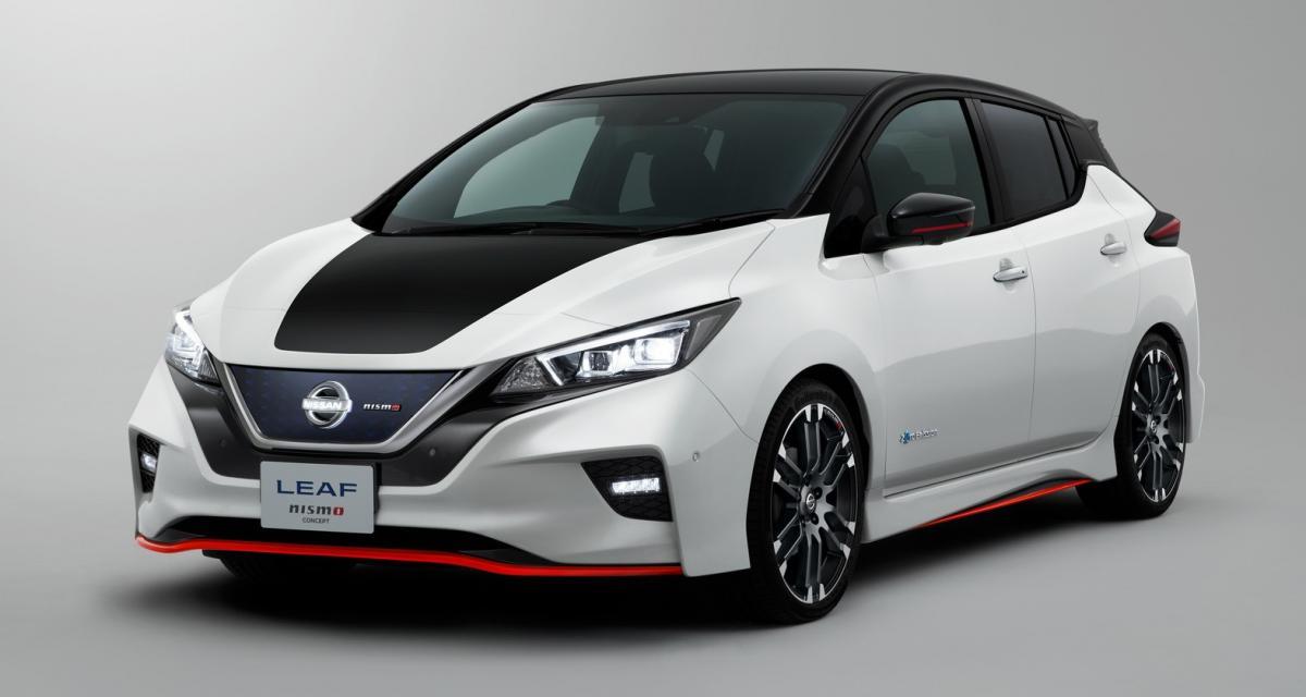 Nissan officialise la Leaf Nismo Concept