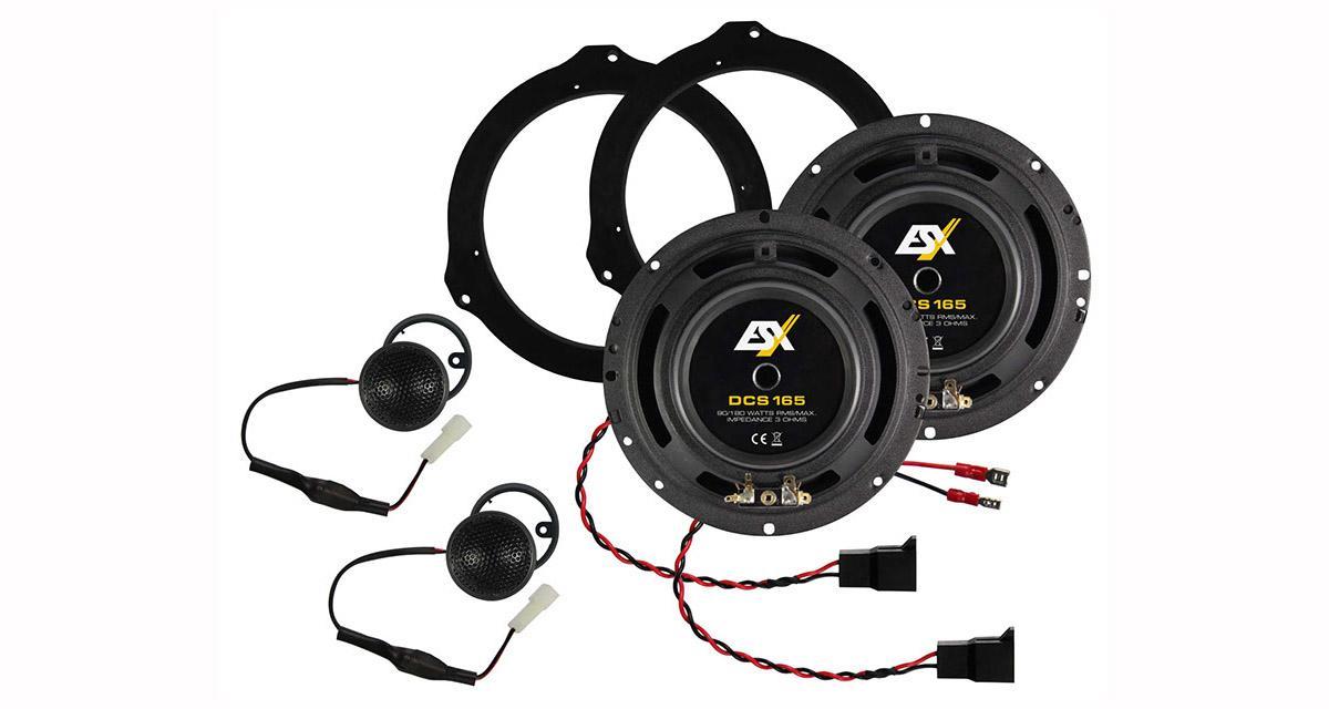 ESX présente un kit haut-parleur spécifique pour le Fiat Ducato
