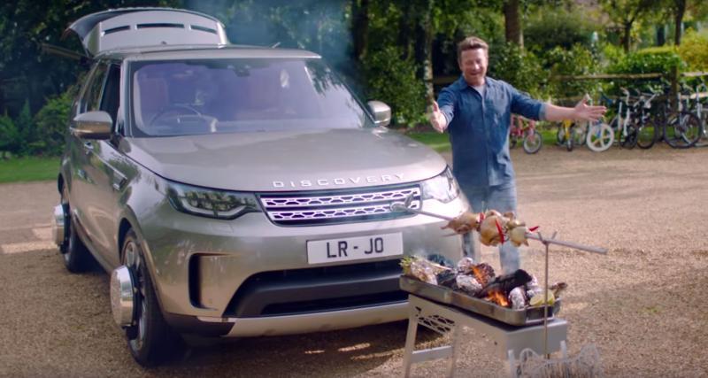 Faites un barbecue et des toasts avec ce Land Rover Discovery converti en cuisine